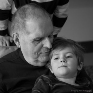 Jerry and his granddaughter.