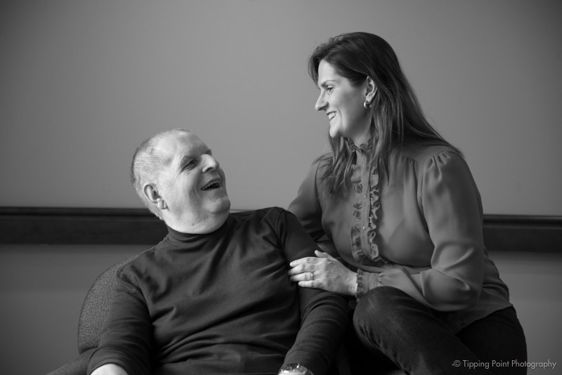 Jerry and his youngest daughter (my friend).
