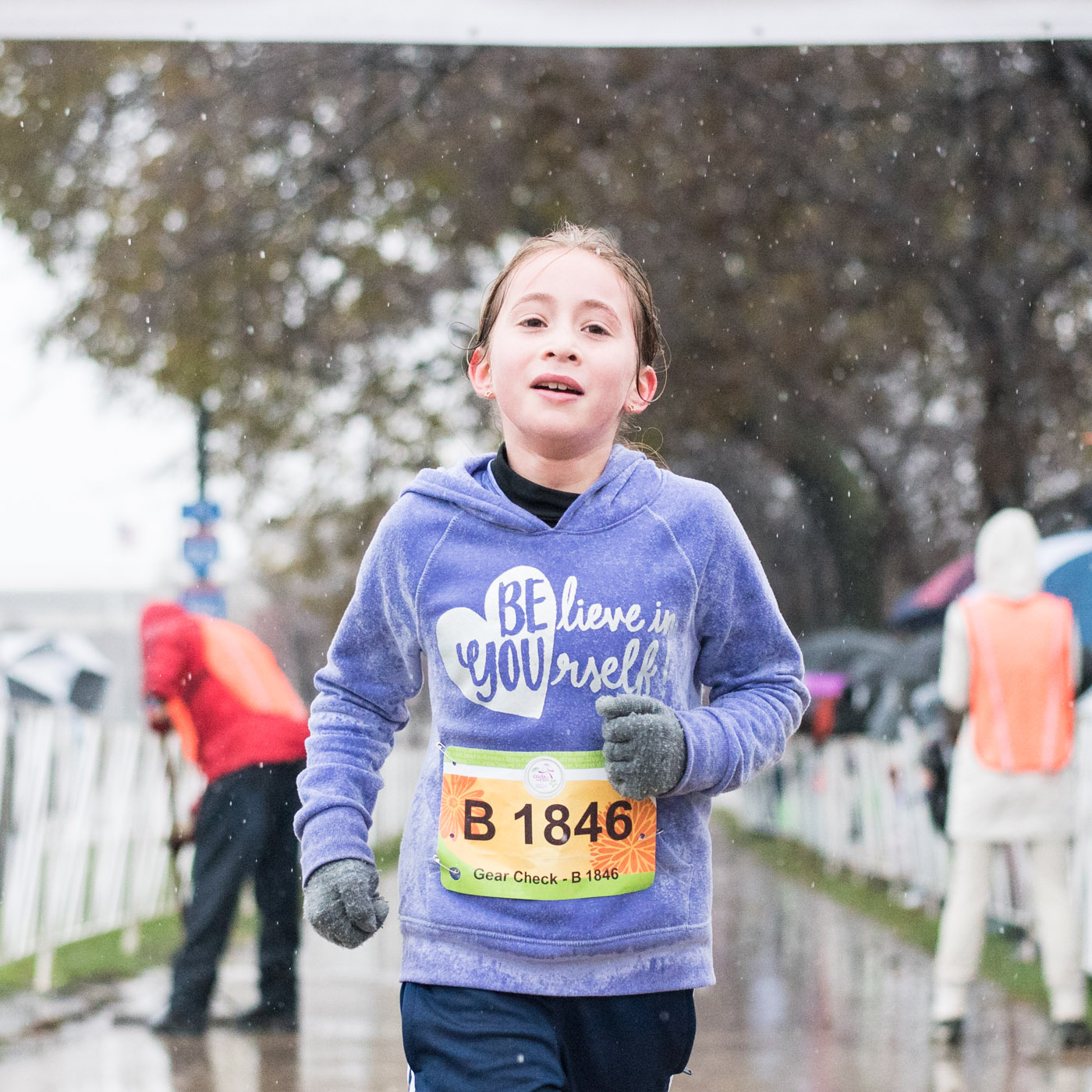 Determination personified at Girls on the Run 5k